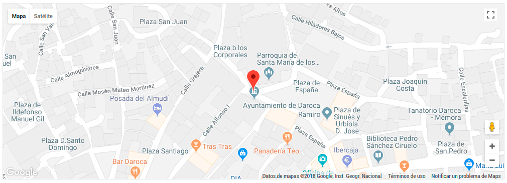 Registro Civil de Daroca, Zaragoza - Dirección y telf - Certificados ...